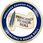 Principal s honor roll badg
