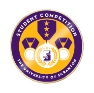 Scranton student competition badge