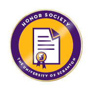 Scranton honor society badge