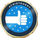 Cropped verified achievement