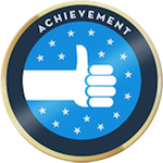 Cropped verified achievement