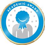 Cropped verified academic award