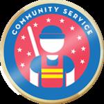 Cropped verified community service