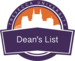 Dean'slist badge