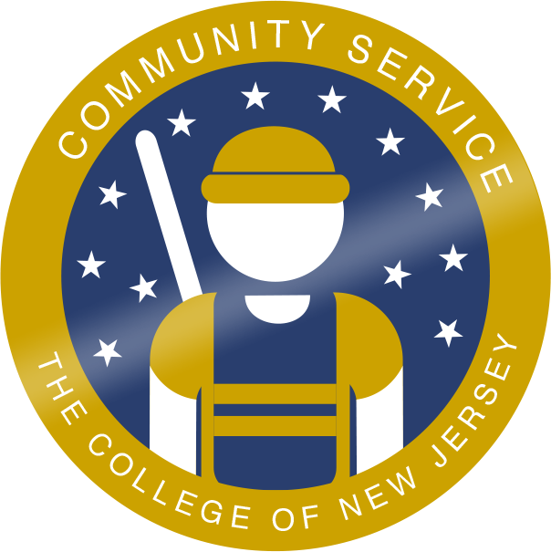 Tcnj merit badge communityservice