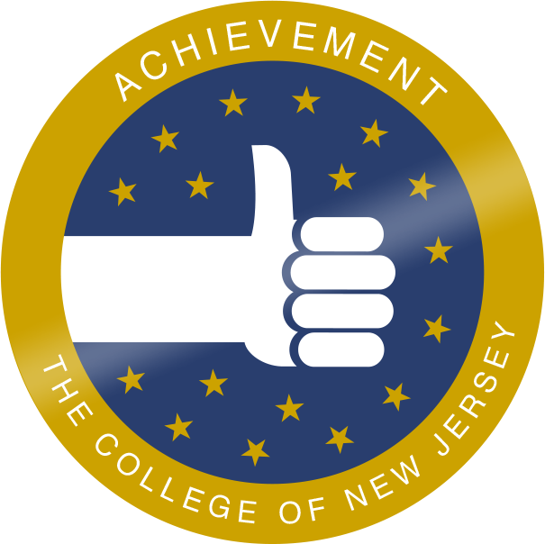 Tcnj merit badge achievement