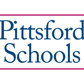 Pittsford schools logo stacked