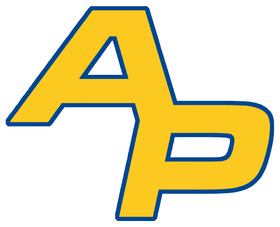 Ap logo   royal blue outline