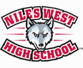 Niles west header logo