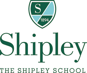 Shipley and shield with the shipley school vertical