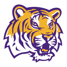 Lsu tigers logo iron on transfers %28heat transfers%29 n4910
