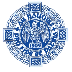 All hallows blue seal