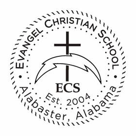 Evangel christian school seal