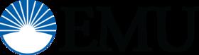 Emu lettermark logo color