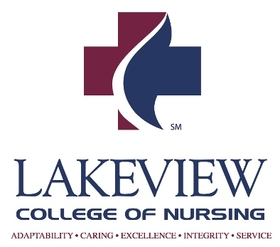 Lakeview College of Nursing Logo