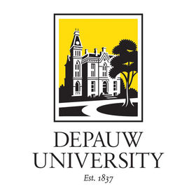 Depauw logo for merit