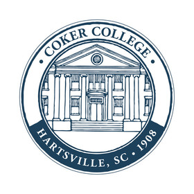 Coker college medallion blue xl