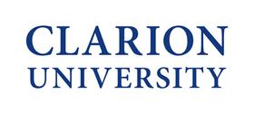 Clarion university logo 400w