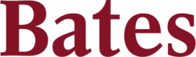 Bates wordmark 201