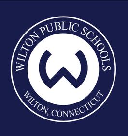 Wilton logo bluebg