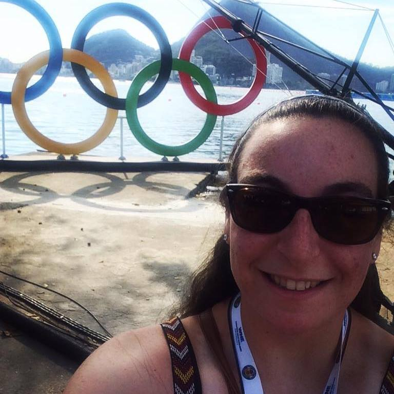 Olympic rings rio