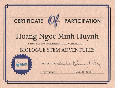 Biologue stem adventures