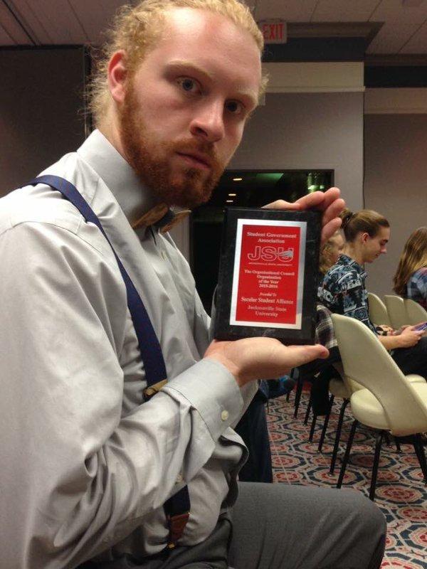 Sga banquet 4.11 org of year award