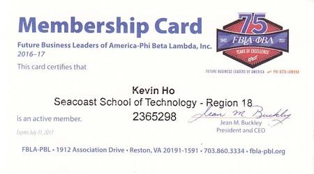 Fbla membership 2016 2017