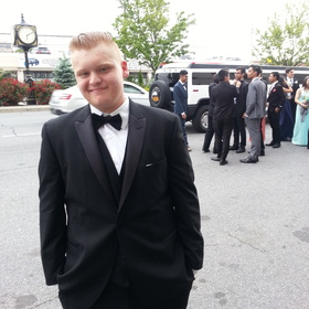 Jake senior prom pic
