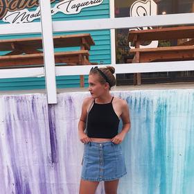 Seaside 2017 skirt lipstick
