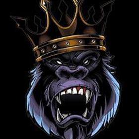 Gorilla in crown