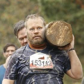 Mike and i at tough mudder
