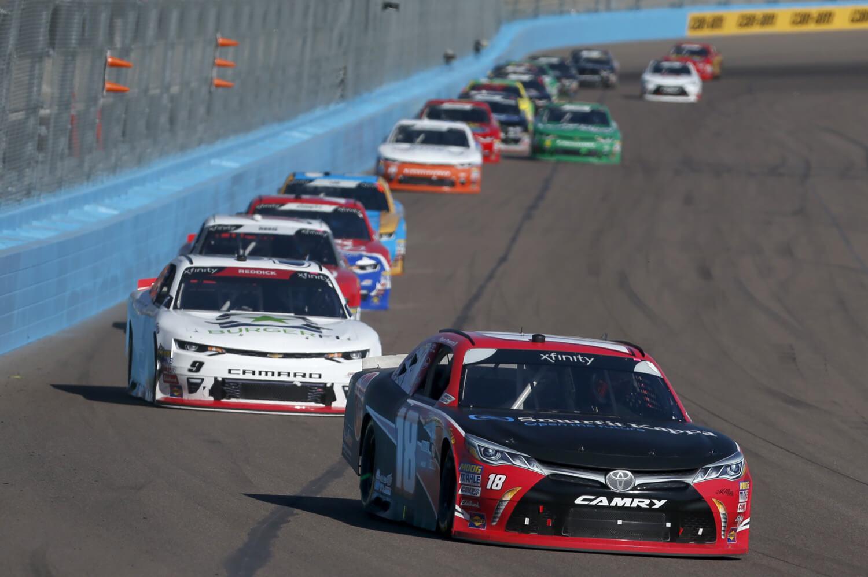 11/10/18 NASCAR Xfinity Series, The Whelen Trusted to Perform 200, ISM Raceway, Ryan Preece, Joe Gibbs Racing, Toyota Camry, Rheem