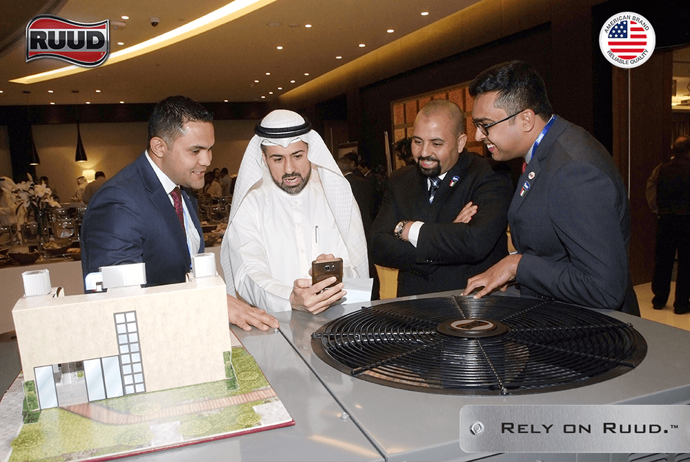 Ruud Launches Its Brand New High Eer Range Of Package Units For Kuwait Luxury Villas