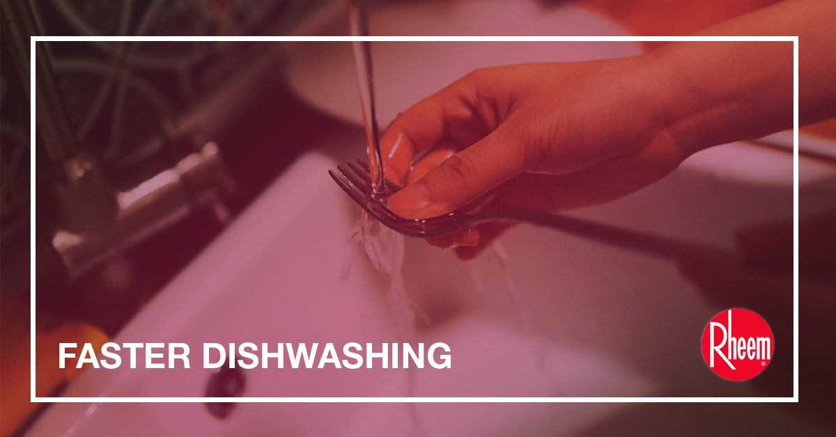faster dishwashing