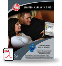 Download Warranty Guide for Heating & Cooling