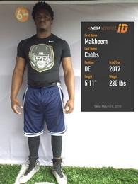 Makheem Cobbs's Football Recruiting Profile