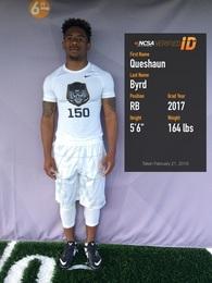 Que'shaun Byrd's Football Recruiting Profile