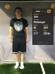 John Montemayor's Football Recruiting Profile