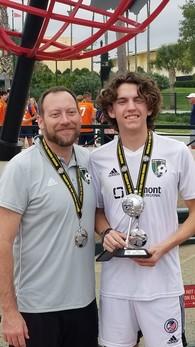 Lincoln Zemaitis's Men's Soccer Recruiting Profile