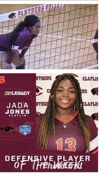 Jada Jones's Women's Volleyball Recruiting Profile