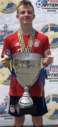 Titus Carr's Men's Soccer Recruiting Profile