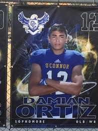 Damian Ortiz's Football Recruiting Profile