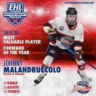 Johnny Malandruccolo's Men's Ice Hockey Recruiting Profile