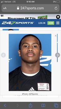 Adrian Cormier's Football Recruiting Profile