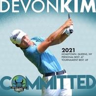 Devon Kim's Men's Golf Recruiting Profile