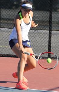 Melanie Sparhawk's Women's Tennis Recruiting Profile
