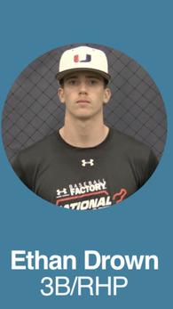 Ethan Drown's Baseball Recruiting Profile