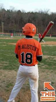 Tyler McAlister's Baseball Recruiting Profile