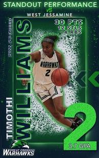 Timothi Williams's Women's Basketball Recruiting Profile
